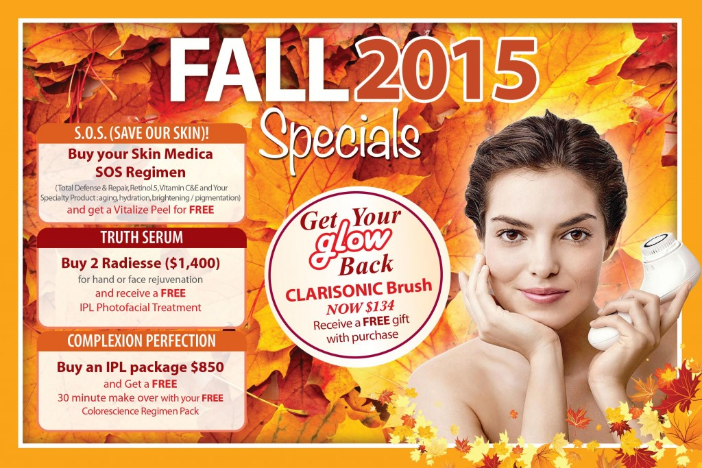 Jupiter Dermatology Fall Specials