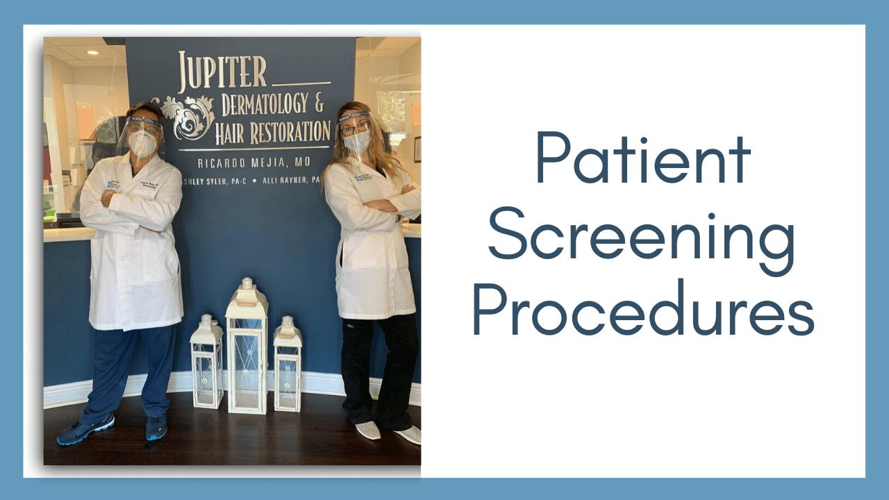 Patient Screening Procedures